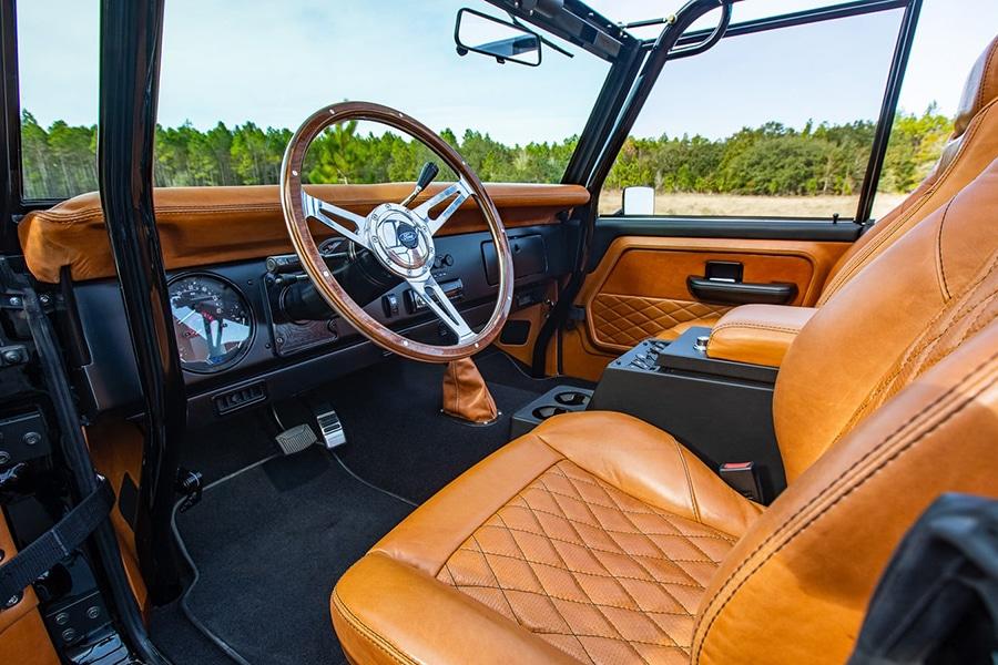 ford bronco steering qheel