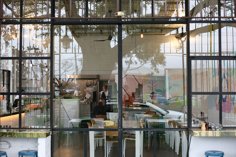 Punchbowl Canteen shop front
