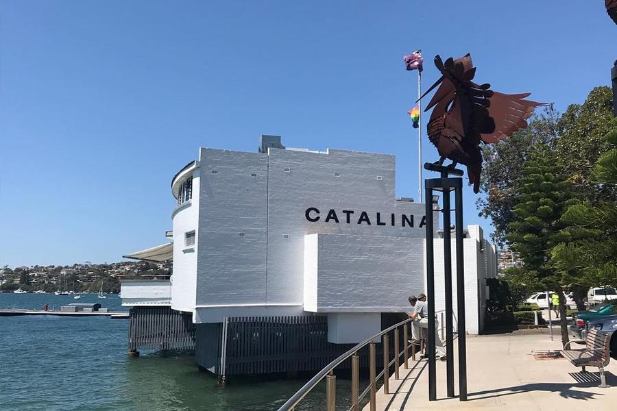 Catalina restaurant facade