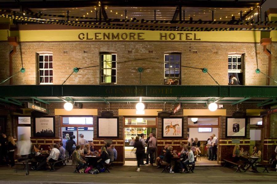 glenmore hotel facade