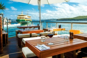 hugos Manly outdoor dining deck