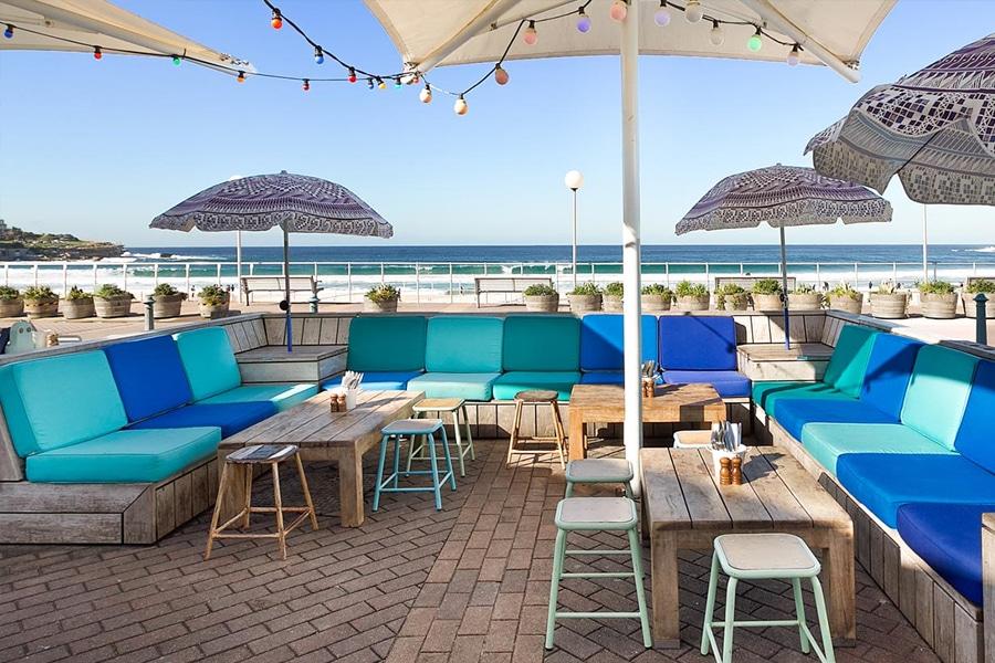 The Bucketlist outdoor dining area