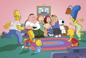 The Simpsons and Family Guy Cross Over