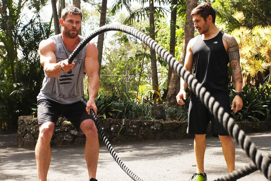 Chris Hemsworth Thor Workout 2