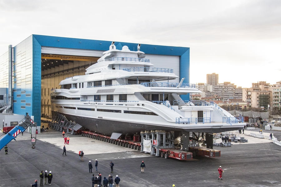 "First Look At James Packer's New Gigayacht, ""IJE"""