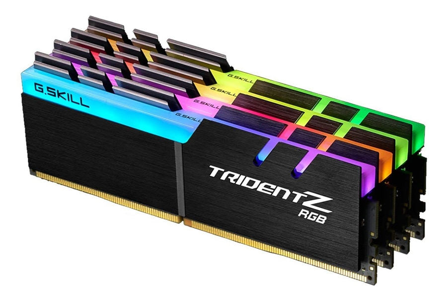 G.SKILL 64GB (4 x 16GB) TridentZ RGB Series DDR4 PC4