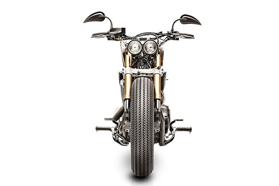 front view honda motor