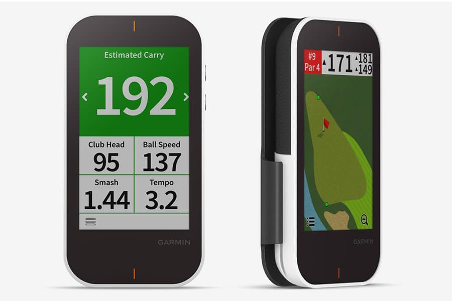 side view garmin golf tracker