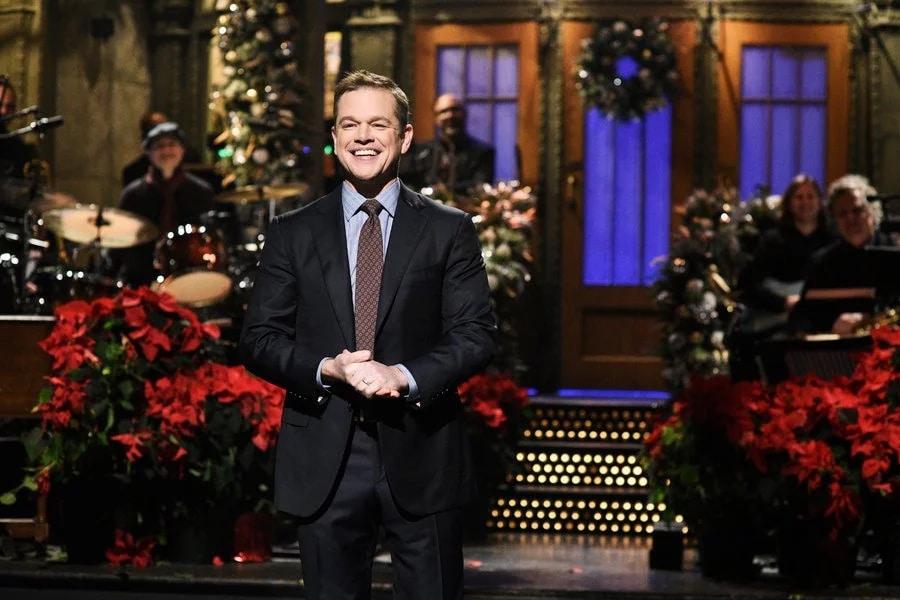 Matt Damon Saturday Night Live