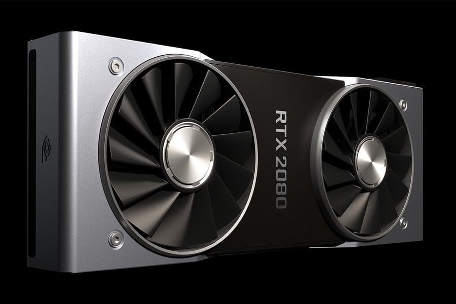 NVIDA G FORCE RTX 2080 Graphics Card