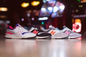 4 colours of new balance 997h sneakers