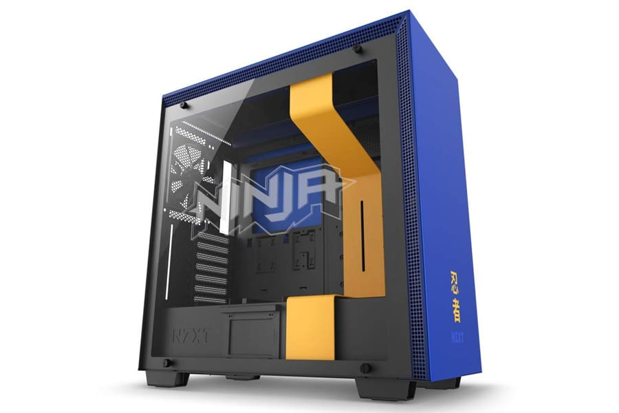 Ninja Fortnite Setup NZXT H700i - Licensed Ninja Edition Gaming Case