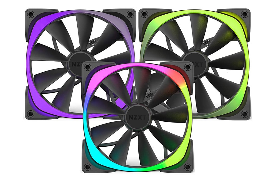 Ninja Fortnite Setup NZXT RGB Case Fan