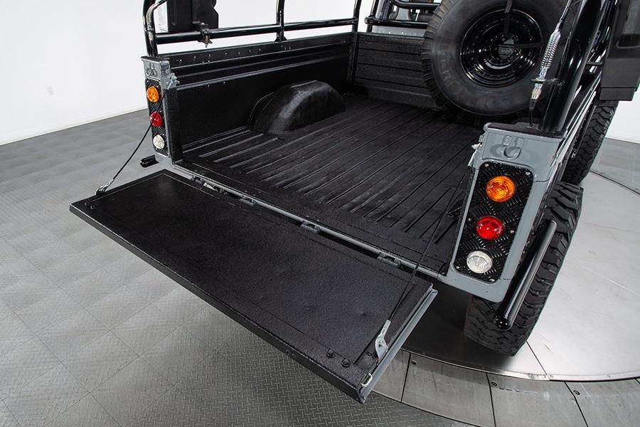Land Rover Defender back view