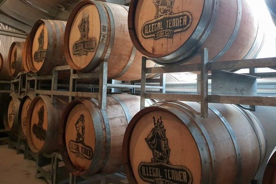 australian rum barrels