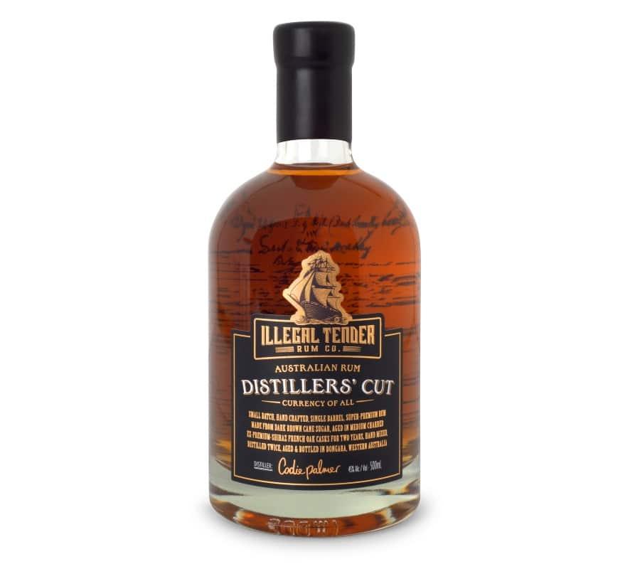 distillers cut australian rum