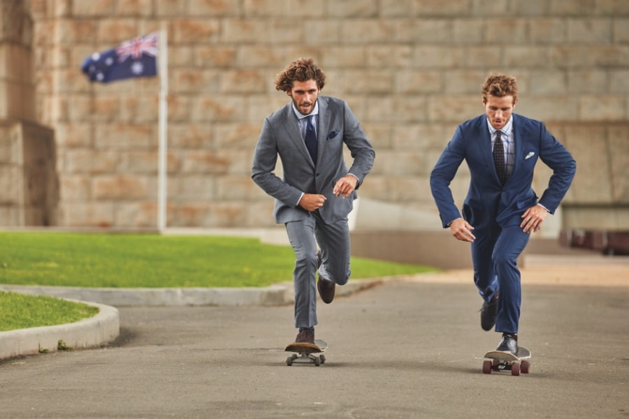 Australian tailored suits