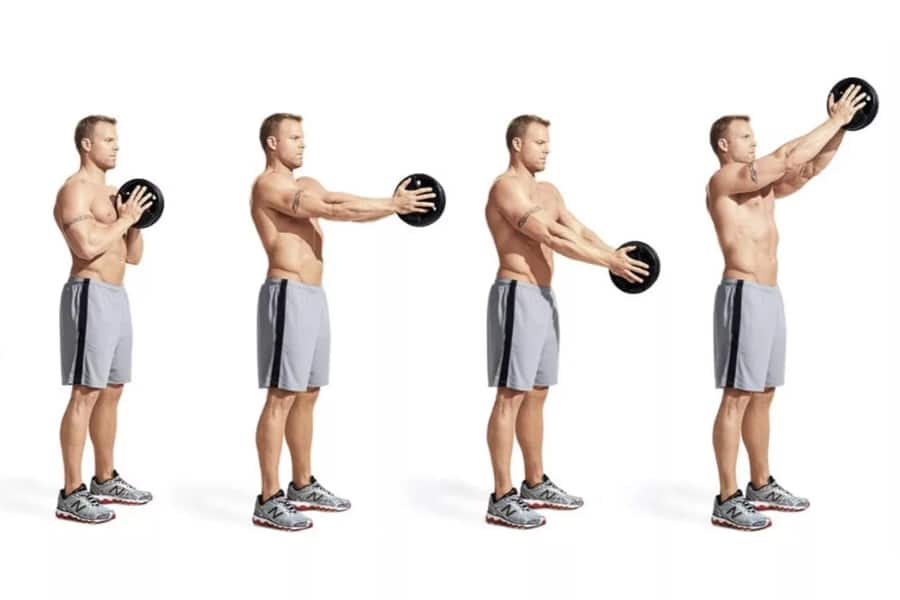 Chest routine perfect The 3