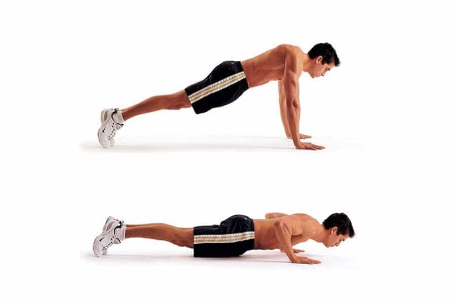 Classic pushups