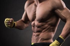 Shirtless Man abs