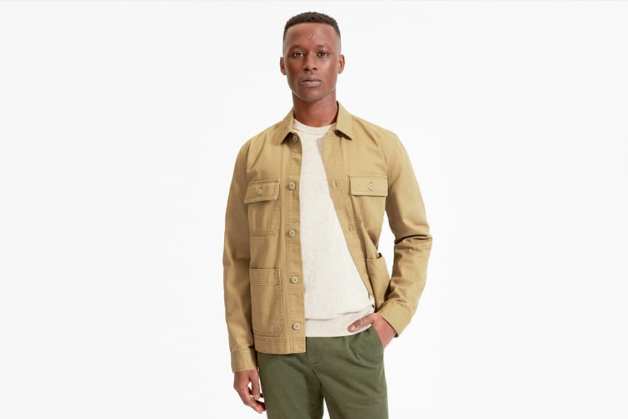 Everlane Chore Jacket in Ochre