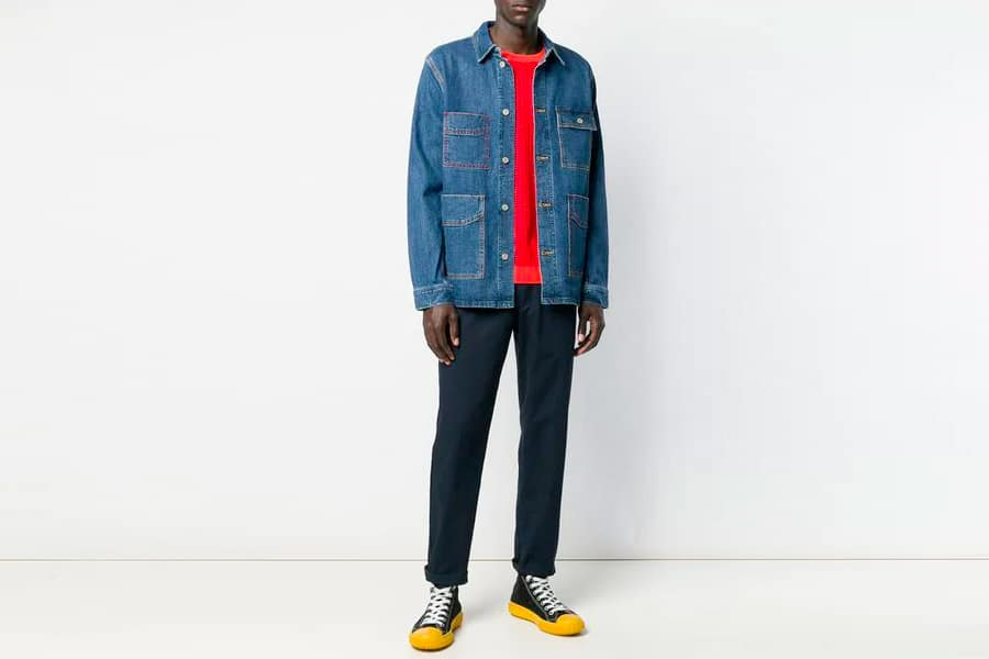 PS Paul Smith Denim Chore Jacket