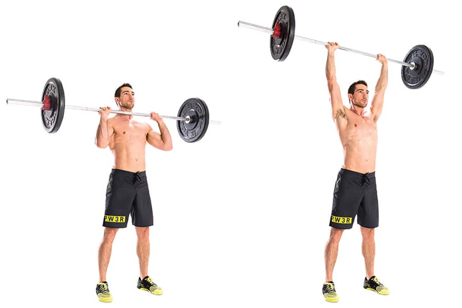 Barbell Overhead Shoulder Press