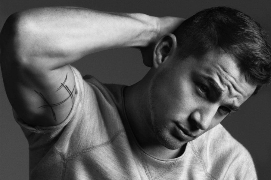 Channing Tatum Black and white