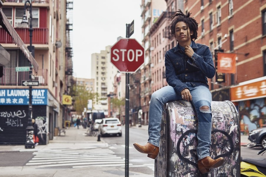 Luka Sabbat on Mail box in New York