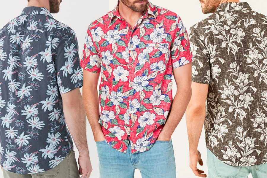 Faherty Hawaiian Shirts