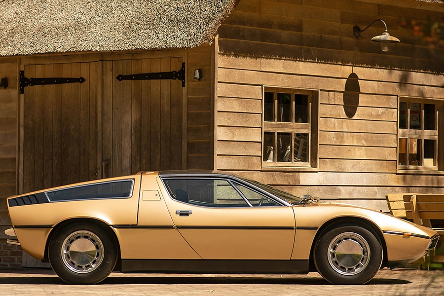 1973 Maserati Bora 4.9 Coupe Displays a Design that's Unchanged