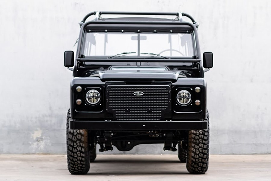 land rover petrol front view