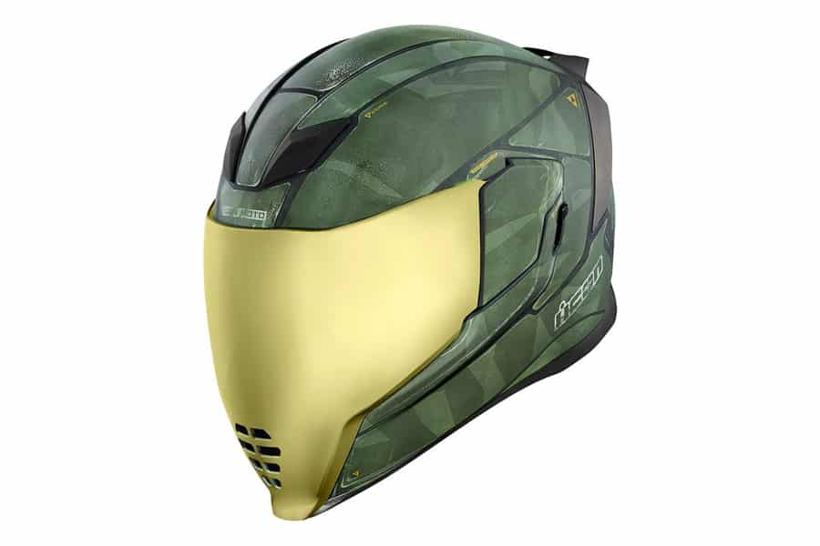 Home Helmets Icon Airflite Battlescar 2 Motorcycle Helmet