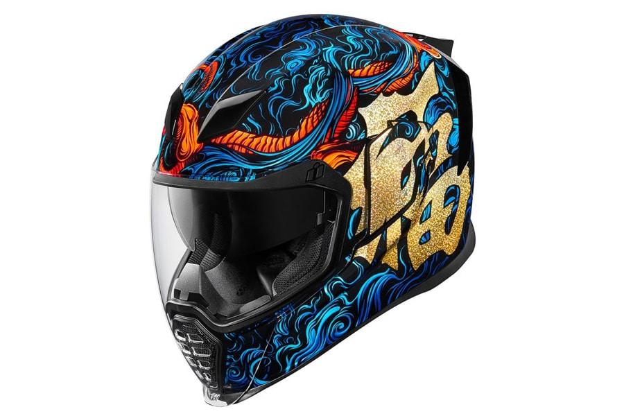 Icon Airflite Good Fortune Motorcycle Helmet 2