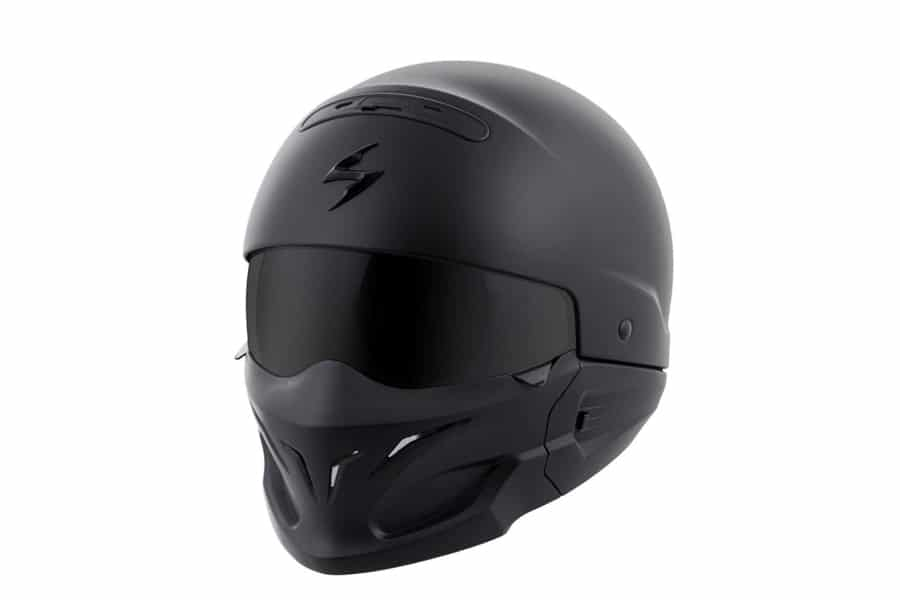 ScorpionExo Covert Matte Black Motorcycle Helmet