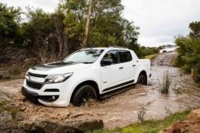 Holden Carea 51 in mud
