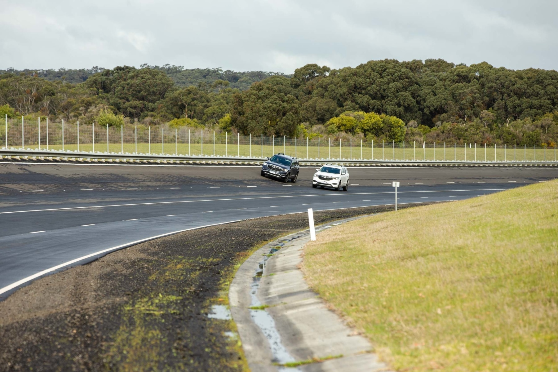 Holden Carear 51 on track