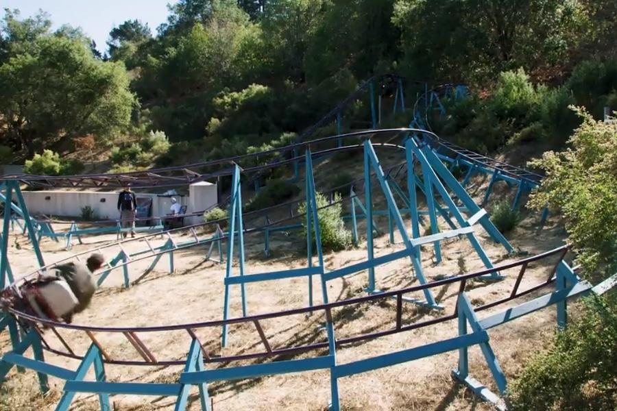 Backyard Rollercoaster