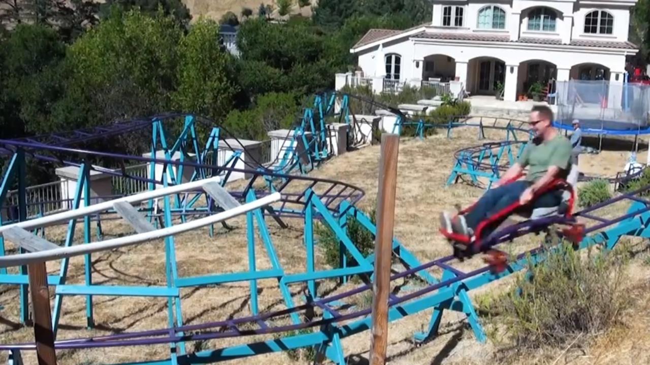 Backyard Roller Coaster Kit - House of Things Wallpaper