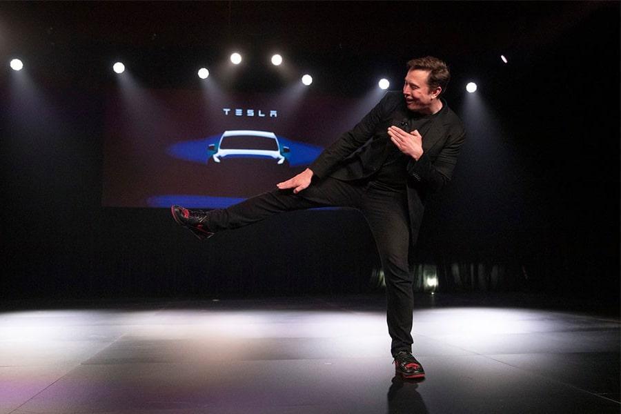 Elon Musk Custom Tesla Nike Air Jordan