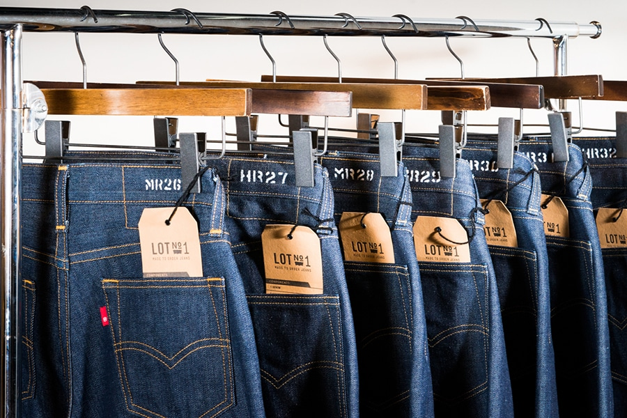 c391d42fc2c Levi's Promises Jeans Made to Order with Lot 1 | Man of Many