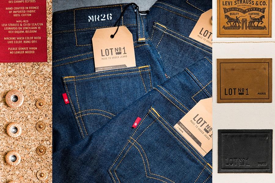 Levi Jeans apparel