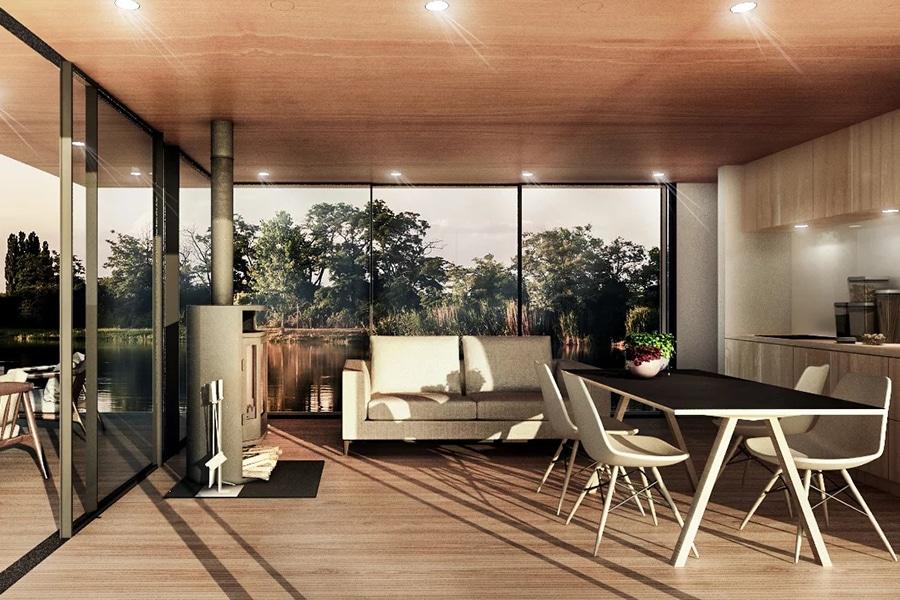 balcony Naturecruiser Houseboat
