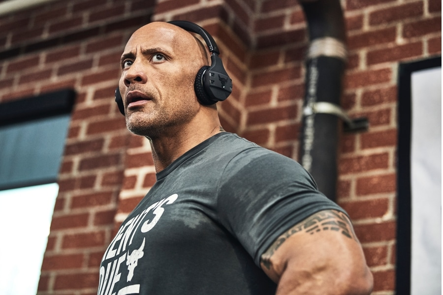 Under Armour x Dwayne Johnson Project Rock Bend Boundaries collection