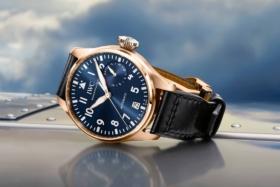 IWC Big Pilot's Watch Single Piece on its side