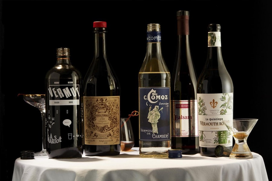 selection of Vermouth