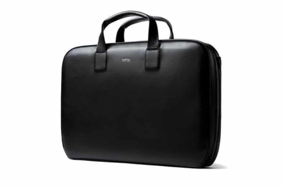 modern leather brief