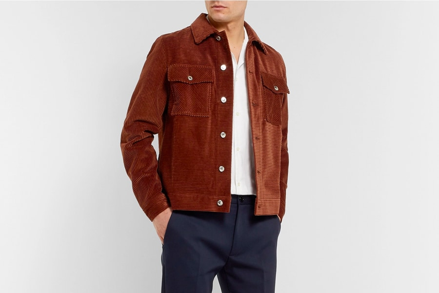 Sefr Eric Cotton cord Shirt Jacket