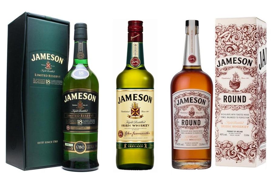 Jameson Whiskeys