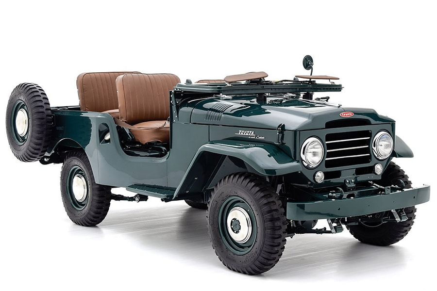 toyota land cruiser vehicle